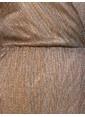 Koton Sim Detaylı Anvelop Elbise Altın